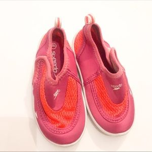 Speedo- Toddler Water Shoes - Pink-Size 6/7
